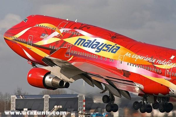 Malaysia Air 747
