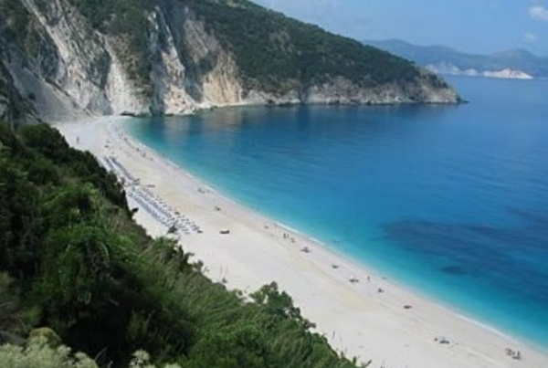 Myrtos Beach, Görögország