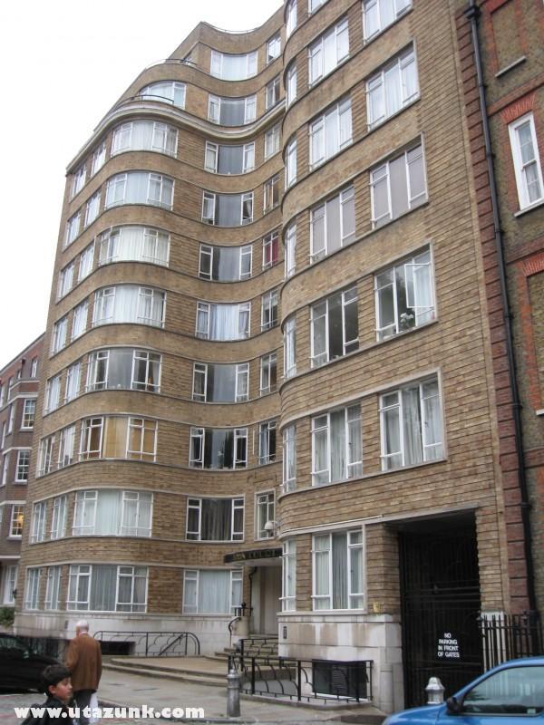 Hercule Poirot lakása Londonban