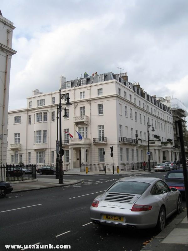 A magyar nagykövetség Londonban