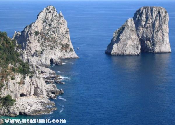Capri sziklái