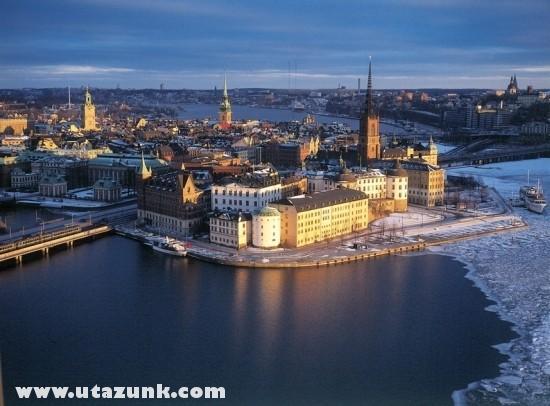 Napnyugta Stockholmban