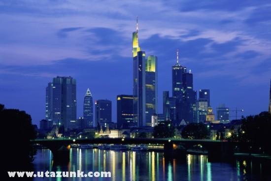 Frankfurt éjjel