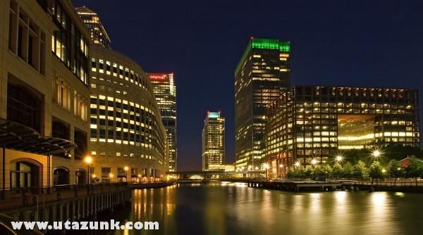 Canary Wharf Londonban