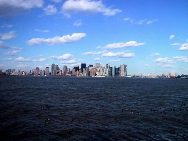 New York búcsúzó látványa