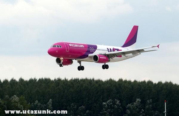 WizzAir landolás