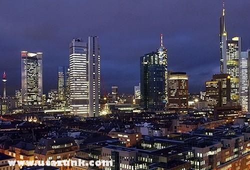 Frankfurt belvárosa