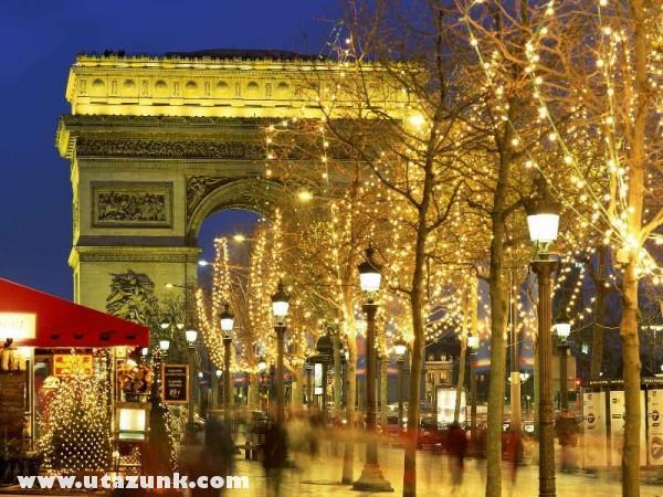 Arc de Triomphe, Párizs, Franciaország