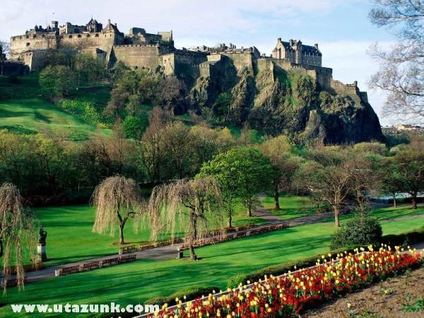 Edinburgh Castle, Edinburgh, Skócia