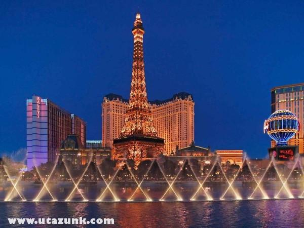 Eiffel Tower as Seen From the Bellagio, Las Vegas