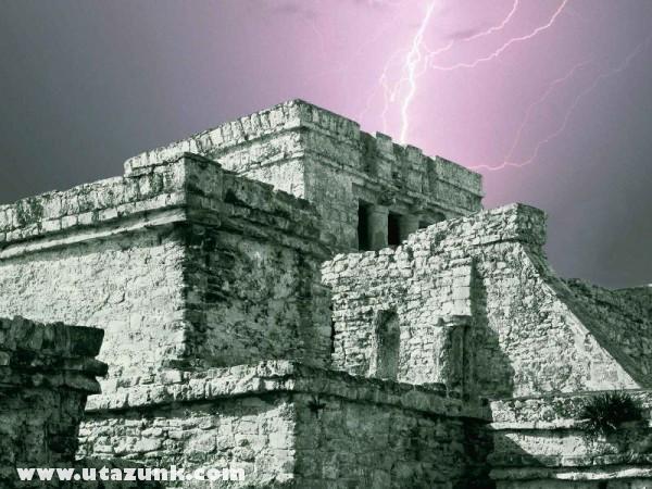 El Castillo, Tulum, Yucatan, Mexikó