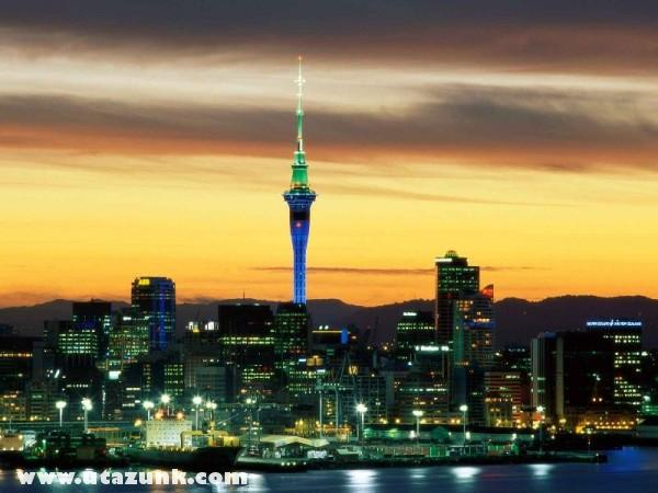 Evening Glow, Auckland, Új-Zéland