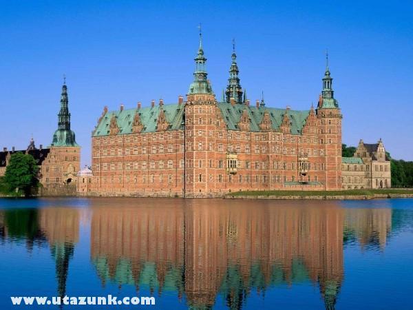 Frederiksborg Castle, Hillerod, Dánia