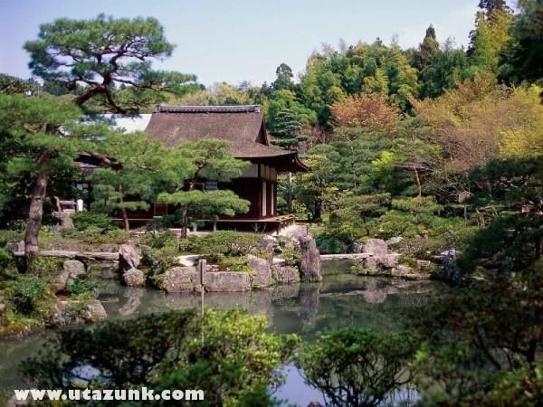 Ginkakuji Temple, Kyoto, Japán