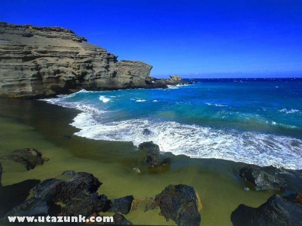 Green Beach, Big Island, Hawaii
