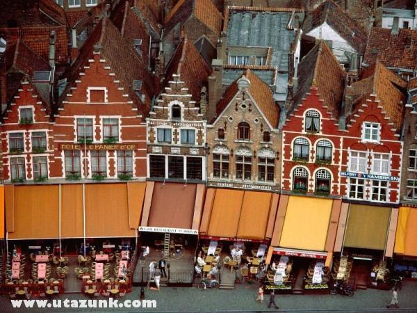 Grote Market, Brugge, Belgium