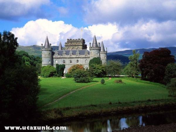 Inverary Castle, Skócia