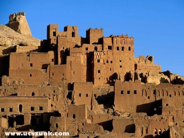 Kasbah Ruins, Ait Benhaddou, Marokkó
