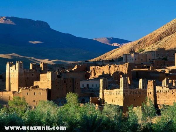 Kasbah Ruins, Marokkó