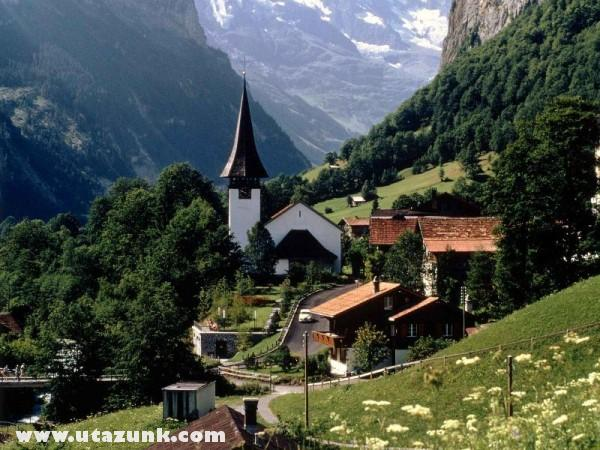Lauterbrunnen, Svájc