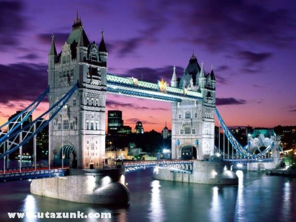 London Evening, Tower Bridge, Anglia
