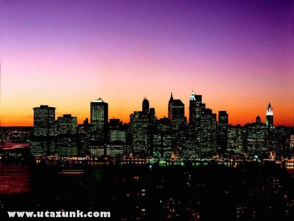 Manhattan Skyline at Twilight, New York