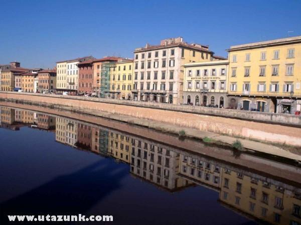 Mirrored, Pisa, Olaszország