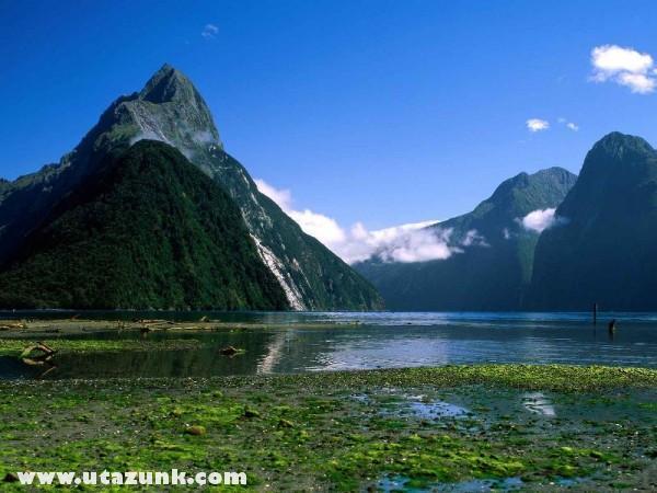 Mitre Peak, Milford Sound, Új-Zéland
