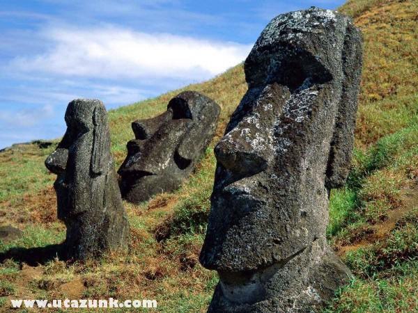 Moai Statues, Chile