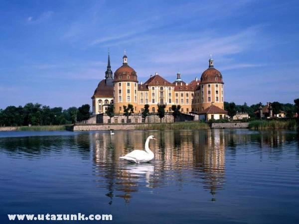 Moritzburg Castle Near Dresden, Németország