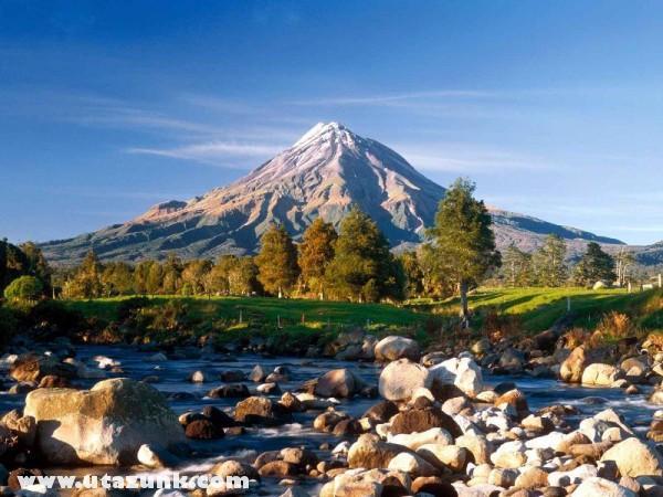 Mount Taranaki, Új-Zéland