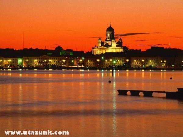 Orange Twilight, Helsinki