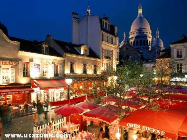 Place du Tertre, Párizs, Franciaország