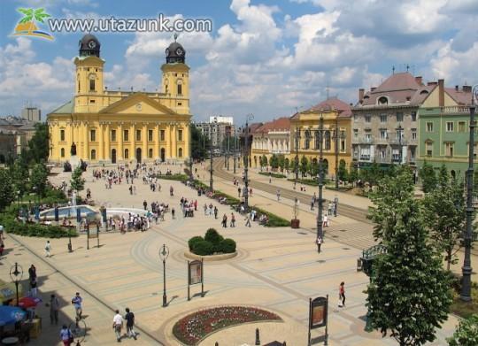 Debrecen, belváros