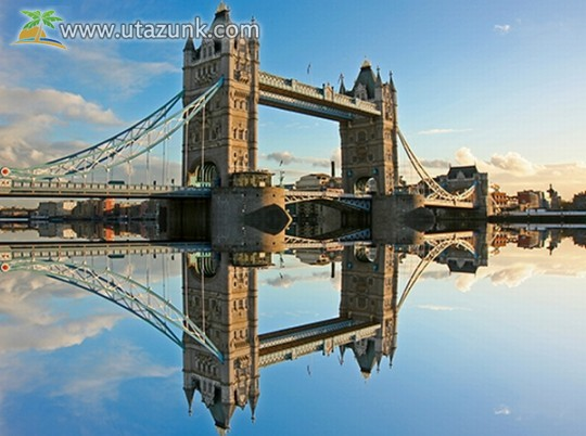 London - Temze, Tower Bridge
