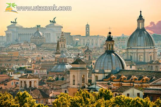 Róma látképe