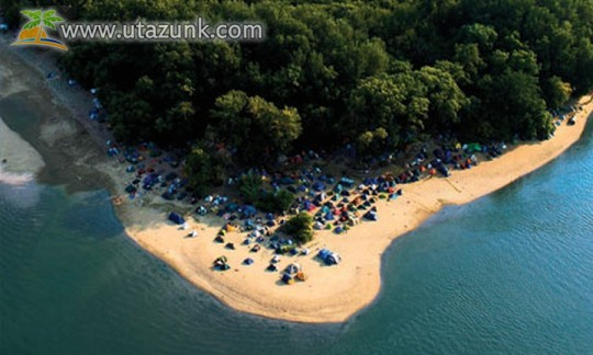 Sziget 2013 Duna Beach