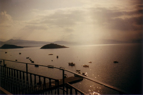 Görögország-Tolo-napfelkelte