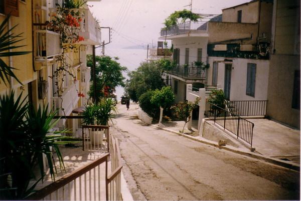 Görögország-Tolo-utcakép