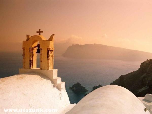Santorini, Cyclades Islands, Görögország