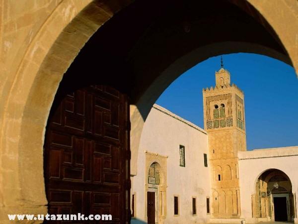 Sidi Sahbi Mosque, Kairouan, Tunézia