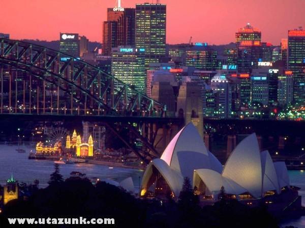 Skyline of Sydney, Ausztrália