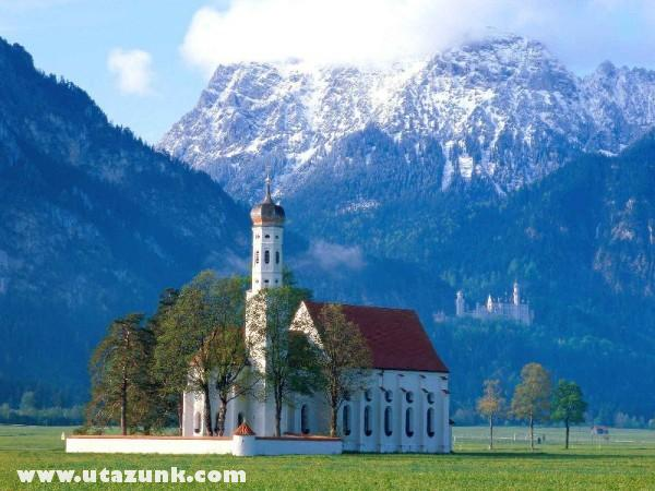 St. Coloman Church, Near Fussen, Bavaria