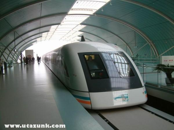 Shanghai - maglev szupervonat