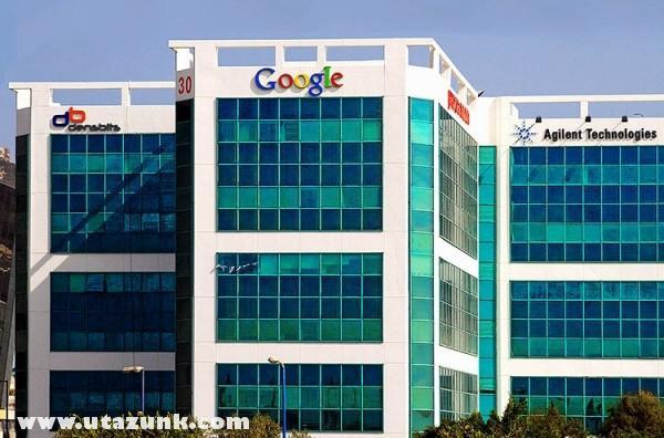 A Google központ székháza