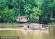 Lakókunyhó az Amazonas mentén