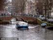 Hajókázás Amszterdamban