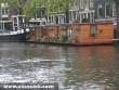 Lakóhajó Amszterdamban
