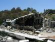 Légikatasztrófa helyszín Los Angelesben
