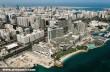 Abu Dhabi, a város madártávlatból